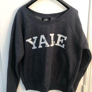 Navy Blue Yale Sweater